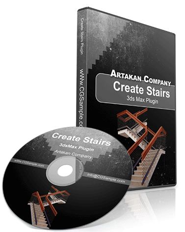 CGSAMPLE | Artakan Create Stairs Plugin